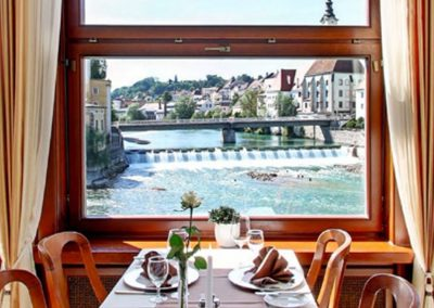Hotel-Restaurant Minichmayr … am Zusammenfluss
